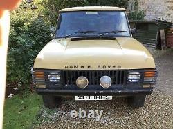 1978 Range Rover Suffix F classic 2 door