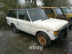 1981 Range Rover Classic 2 door For spares only