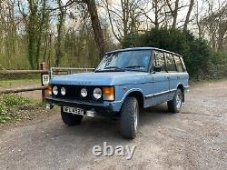 1982 Range Rover Classic 3.5 V8 Vogue Blue 1 previous owner patina survivor
