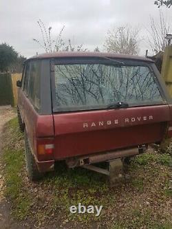 1989 Classic Range Rover GMC engine conversion PROJECT