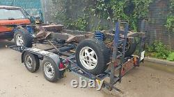 1989 Range Rover Vogue Classic 4 Door Rolling Chassis with I. D. And V5