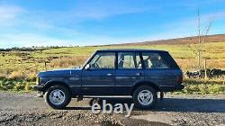 1990 RANGE ROVER CLASSIC 3.9 V8, factory manual gearbox, new MOT