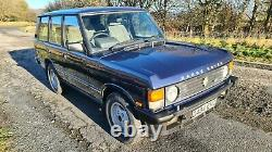1990 RANGE ROVER CLASSIC Vogue SE 3.9 V8, factory manual gearbox, new MOT