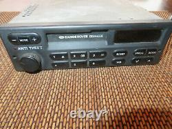 1993 Range Rover classic Factory Radio/tape deck. Working with code