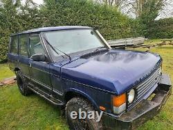 1994 Range Rover Classic Soft Dash Project 300tdi