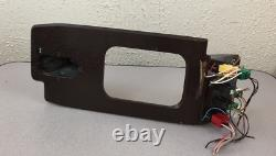 1995 Range Rover County Classic Wood Grain Panel With Master Switch Controls
