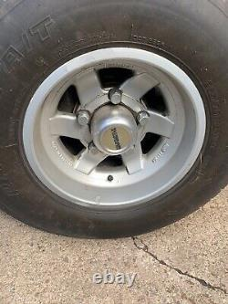 4 X Land Rover Classic Range Rover Discovery Alloy Wheels, Compomotive 15x8.5