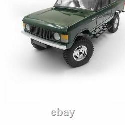 4pcs CNC Metal Beadlock Wheel Rim Wheel Hub for 1/10 Range Rover Classic Body RC
