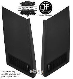 Black 2x Rear Exterior D Pillar Vinyl Covers For Range Rover Classic