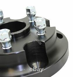 Black Raptor Range Rover Classic Wheel Adaptors for L322 & Sport Rims 72.5mm CB
