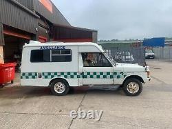 Classic Range Rover Ambulance, barn find, restoration project, camper