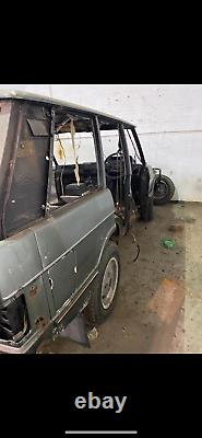 Classic range rover project