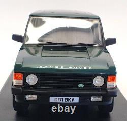 Cult Models 1/18 Scale CML017-2 1990 Range Rover Classic Vogue Met Green