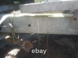 Galvanised Classic Rolling Range Rover Chassis 1974 V5