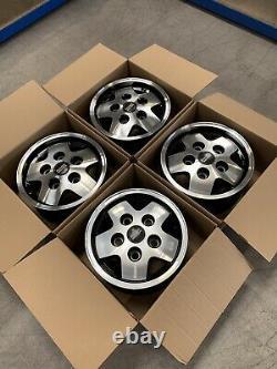 Genuine Land Rover Range Rover Classic CSK LSE 16 Diamond Cut Alloy Wheels x4