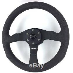 Genuine Momo Competition 350mm steering wheel and hub kit. Land Rover from 2015