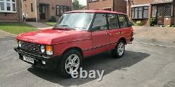 Gorgeous Range Rover Classic, TVR V8, tons of history, over 20k in receipts