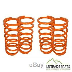 Land Rover Defender 90 & Discovery 1 Front & Rear 1 Lowering Spring Set Springs
