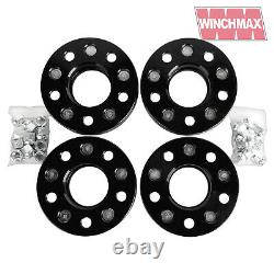 Land Rover Defender, Disco1, Range Rover Classic 38mm wheel spacers BLACK T1