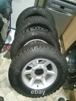 Land Rover Series Or Early 90/110 Range Rover Classic Alloy Wheels