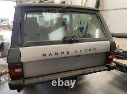 Late 80s Range Rover 2 Door Classic