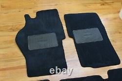 OEM Range Rover Classic Coupe 2 Door Blue Carpet Floor Mats Trunk Cargo Mat Rare