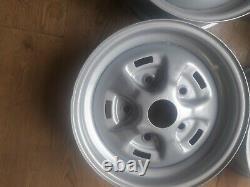 Original Genuine Land Rover Range Rover Classic Rostyle 16 Steel Wheels