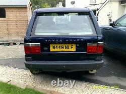 P38 Range Rover 2.5 Dse Auto Emerging Classic One Of The Very Best 4x4
