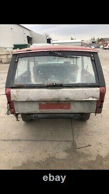 RANGE ROVER CLASSIC 2 DOOR Project Barn Find Spares Or Repair 3.5 V8 With V5