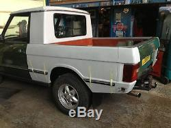 RANGE ROVER Classic Pickup truck fiberglass kit project SALE PRICE LAND ROVER