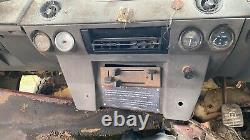 Range Rover 2 Door Classic Center console With Dials