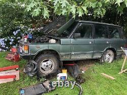 Range Rover Classic 1986 Perkins 4182 Project