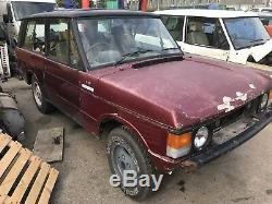 Range Rover Classic 2 Cars Cars Spares Or Repairs