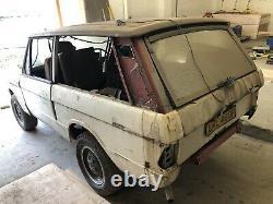 Range Rover Classic 2-Door, V8, 1976, Suffix D For Restoration