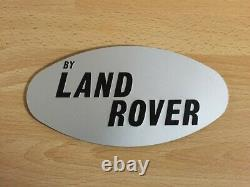 Range Rover Classic 2 Door by Land Rover Tailgate Badge