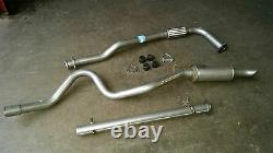 Range Rover Classic 300tdi Complete Sports Exhaust System With Flexi De-cat Pipe