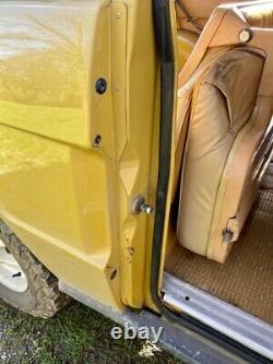 Range Rover Classic 3.5 V8 Suffix D 1975 2 Door Bahama Gold LTD Edition Washer W