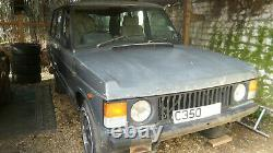 Range Rover Classic 5 door excellent chassis and door bottoms