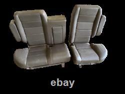Range Rover Classic 87-95 Rear Seats OEM Brown