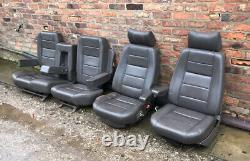 Range Rover Classic Electric Leather Seats In Winchester Grey