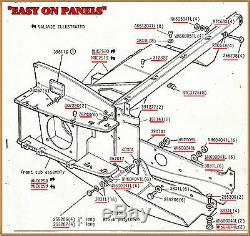 Range Rover Classic Inner Wing Full Front Assembly