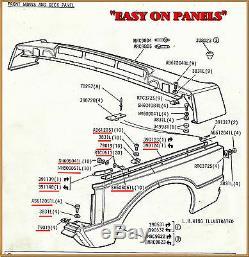 Range Rover Classic Inner Wing Muc2519