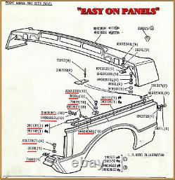 Range Rover Classic Inner Wing N/s Main Component