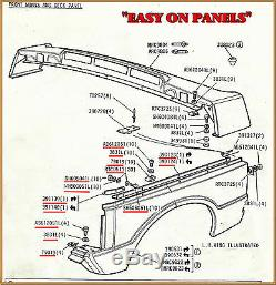Range Rover Classic Inner Wing O/side