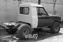 Range Rover Classic LAND ROVER Trayback project Fiberglass, kit only