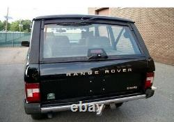 Range Rover Classic Overfinch Rapport Euro Clear/red Tail Lights Lenses Lights