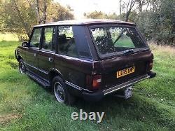 Range Rover Classic Rare Factory Fit 200 Tdi 80k Genuine Miles Project