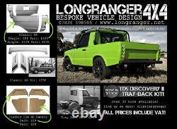 Range Rover Classic Rear Wings Light Corner N/s Made In Fiberglass Top Quality