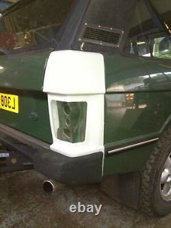 Range Rover Classic Rear Wings Light Corner O/s Made In Fiberglass Top Quality