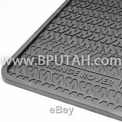 Range Rover Classic Rubber Floor Mat Mats for 100 Short Wheel Base Genuine OEM